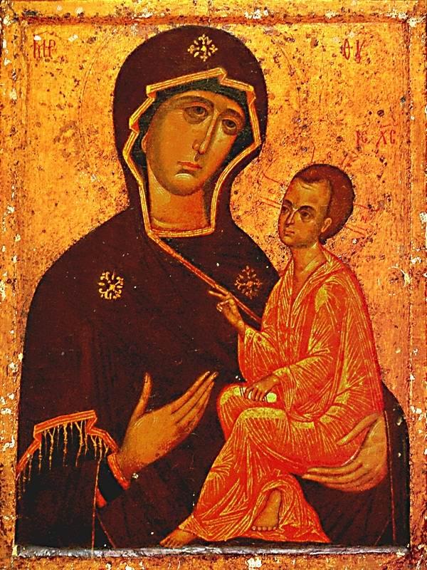 Тихвинская: русская икона апостола Луки